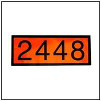 UN 2448 Placard