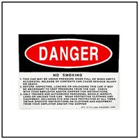 Danger Non Pressure Car