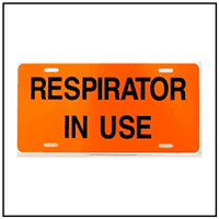 Respirator in Use